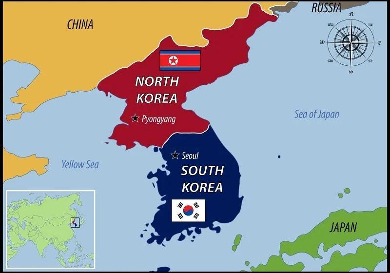 Bản đồ Hàn Quốc: Đọc và hiểu hơn về đất nước củ sâm - Trung Tâm du học Hàn  Quốc Sunny