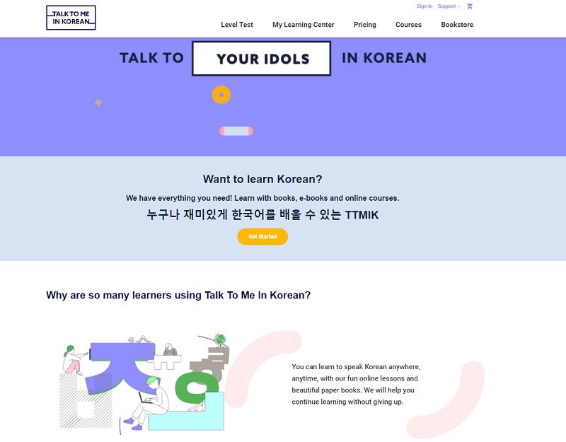 Top 10 trang Web học tiếng Hàn online miễn phí uy tín nhất hiện nay