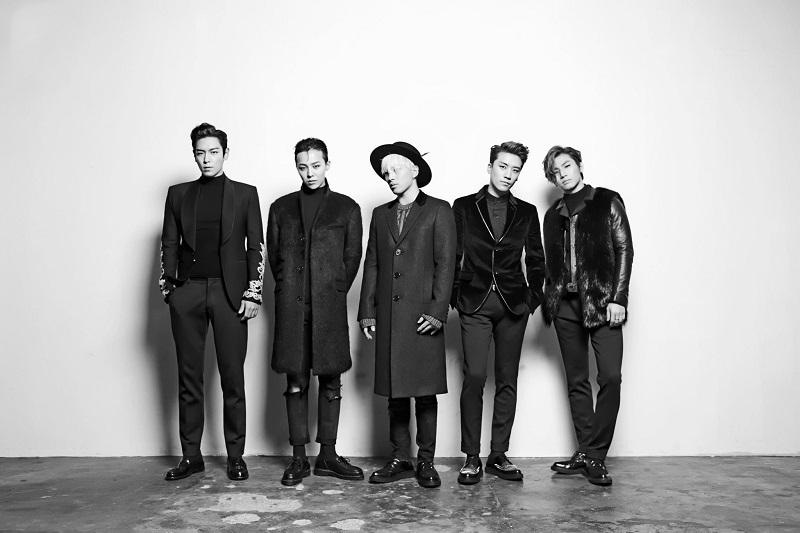 Hình ảnh BIGBANG trong đợt quảng bá album MADE