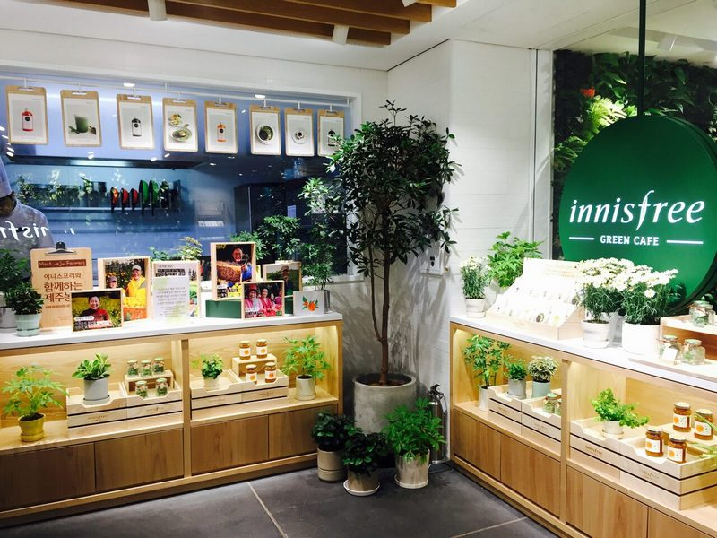Innisfree-GREEN-CAFE-o-seoul-han-quoc
